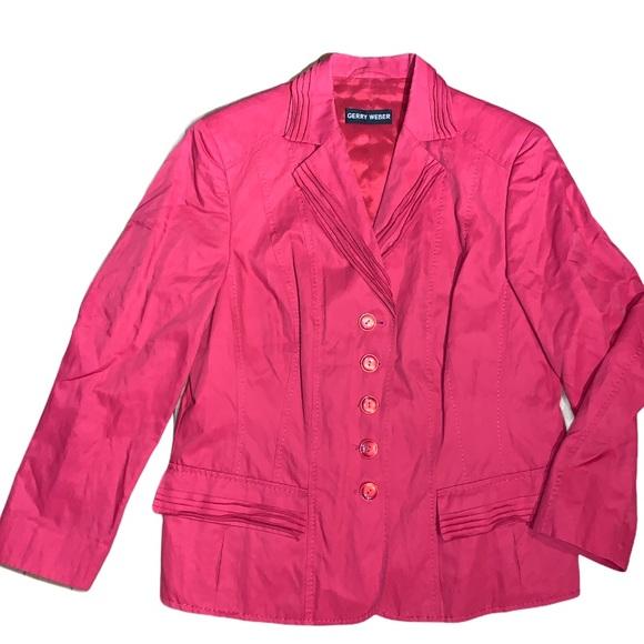 Vintage Pink Gerry Weber Blazer Size 14
